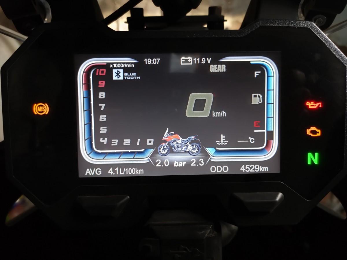 Обзор и впечатления о Voge 500DS