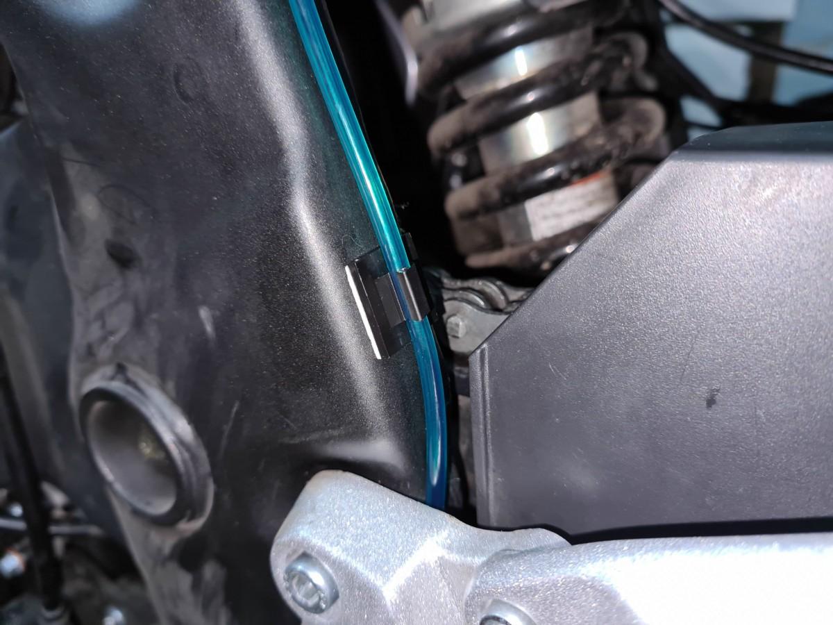 Установка автосмазчика цепи PDOiler